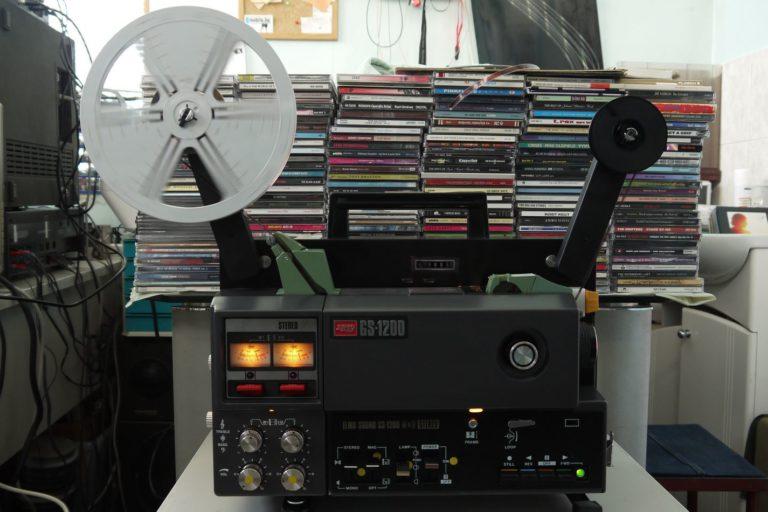Видеопроектор за 8мм Elmo GS-1200 Stereo MO серия