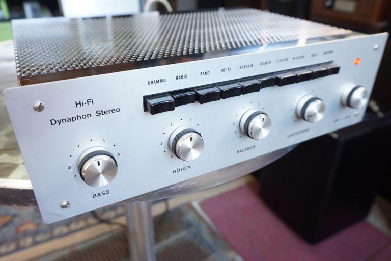Стерео лампов усилвател Hi Fi Dynaphone Stereo 1070S